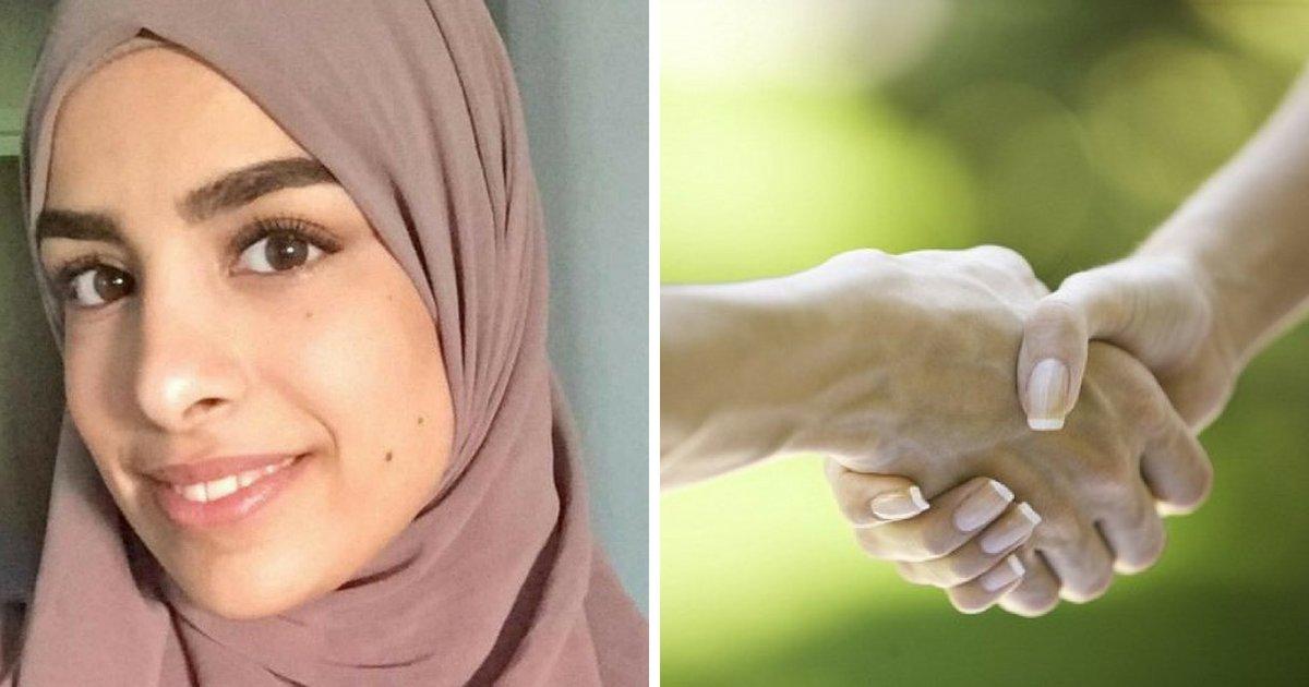 farah3.png?resize=648,365 - Une femme reçoit une indemnité de 3 800 € après s'être vu refusé un entretien parce qu'elle n'a pas serré la main de l'employeur
