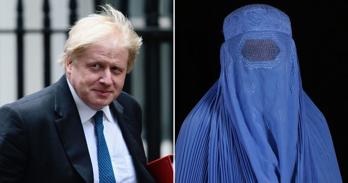 featured image 20.jpg?resize=1200,630 - Boris Johnson Sparks Outrage By Comparing Women Who Wear Burqas With Bank Robbers And Letter Boxes