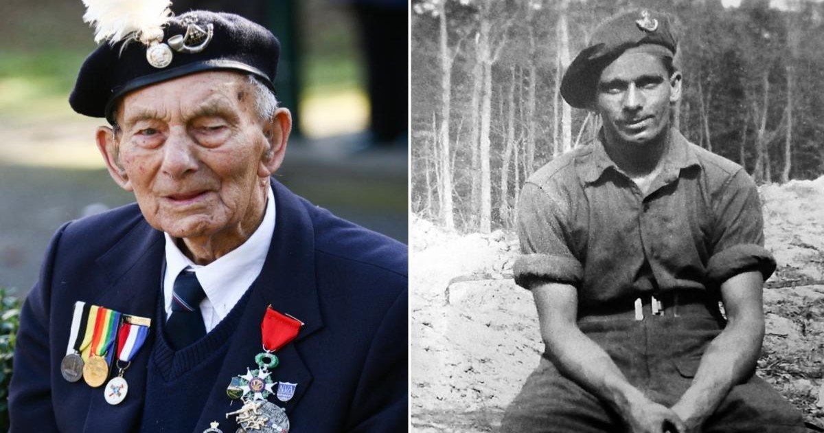 featured image 29.jpg?resize=636,358 - D-Day Hero, Who Was One Of The First To Land On Normandy During WWII, Dies Aged 102