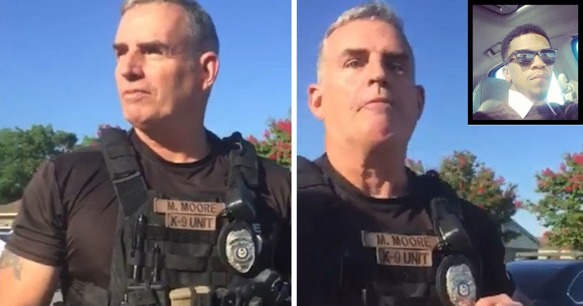 featured image 33.jpg?resize=636,358 - White Arkansas Cop FIRED After Video Of Him Telling Black Men That They 'Don't Belong In His City' Goes Viral