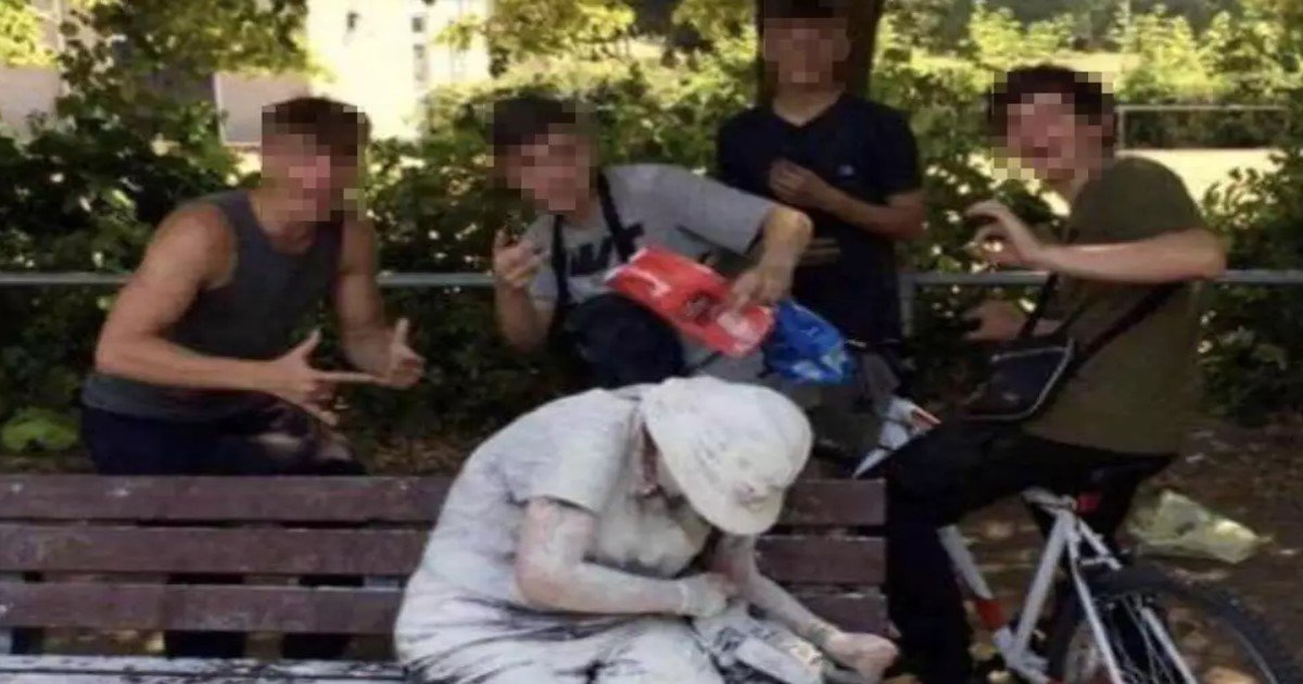 featured image 4.jpg?resize=636,358 - Teens Who Posed With Disabled Woman After Pelting Her With Eggs And Flour Seek Police Protection For Fear Of Reprisals