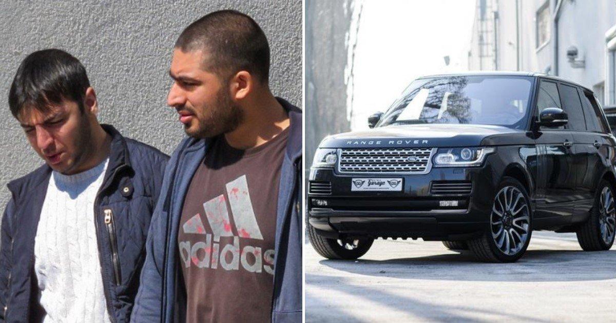 featured image 59.jpg?resize=412,232 - La police arrête des voleurs de voitures après qu'ils aient laissé le dispositif de localisation retiré d'un Range Rover volé dans leur propre voiture