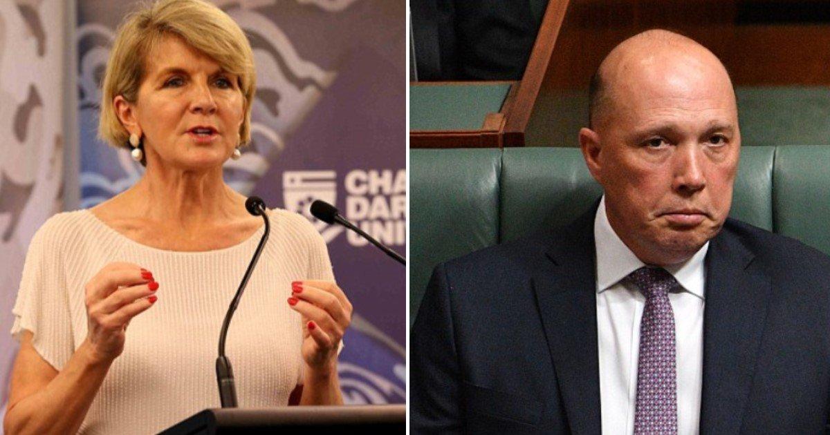 featured image 60.jpg?resize=412,232 - Comment la populaire ministre australienne des Affaires étrangères, Julie Bishop, pourrait devenir la deuxième femme PM du pays