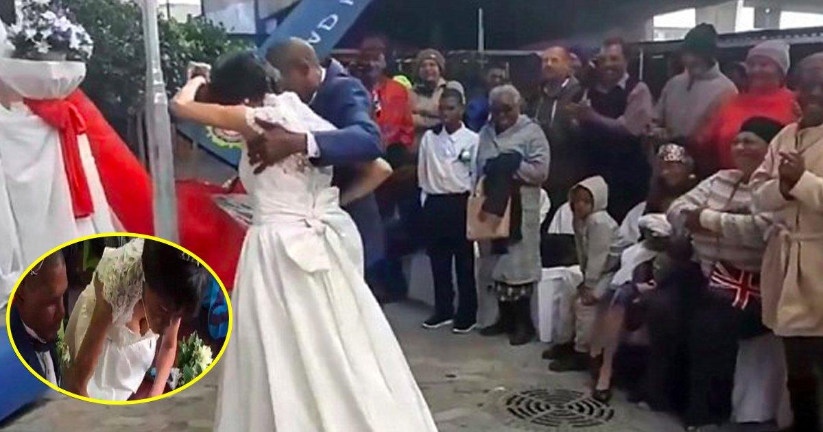 gaga 3.jpg?resize=412,232 - Le couple passe 30 ans dans la rue avant de finalement se marier sous un pont
