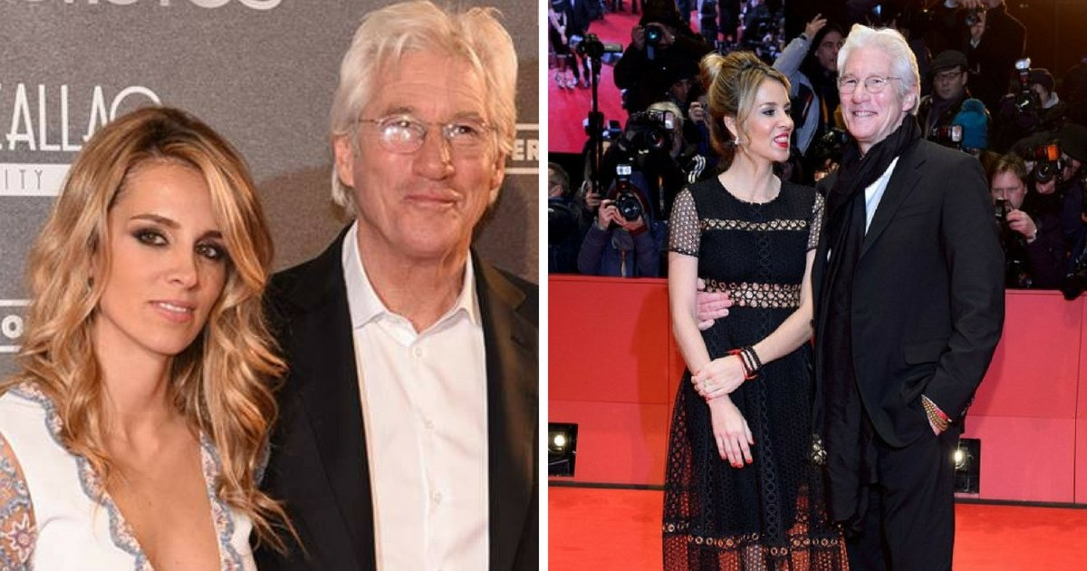gere6.png?resize=300,169 - Richard Gere Is Set To Become A Dad Again With New Wife Alejandra Silva, Four Months After They Got Married
