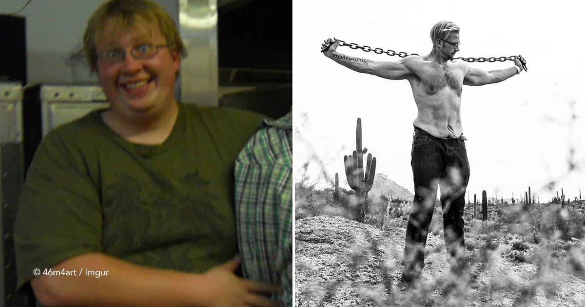 gguh.jpg?resize=300,169 - Muestra su cuerpo sano y trabajado después de superar la obesidad que por poco le hubiera costado la vida