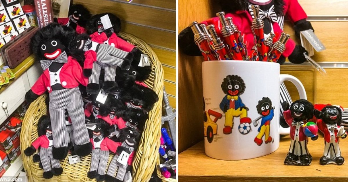 gift shop.jpg?resize=636,358 - Gift Shop In North Yorkshire Under Fire For Selling Golliwogs, Saying They Are NOT Racist