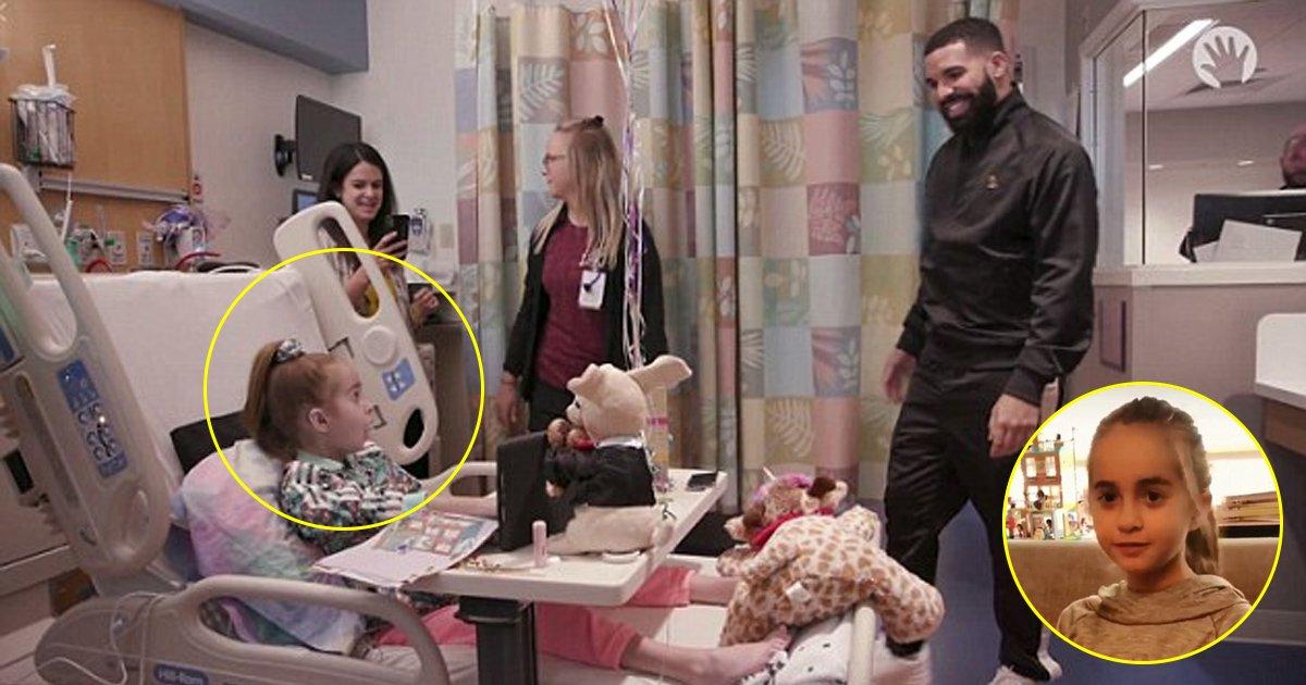 halala.jpg?resize=1200,630 - Cette petite fan de Drake le rencontre finalement sur son lit de mort et obtient une autre chance de vivre
