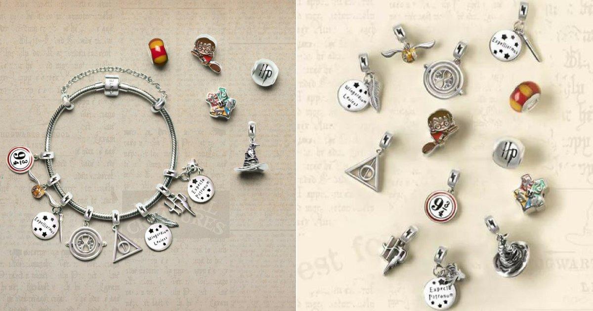 harry.png?resize=1200,630 - Marca de joia lança coleção de pingentes do Harry Potter