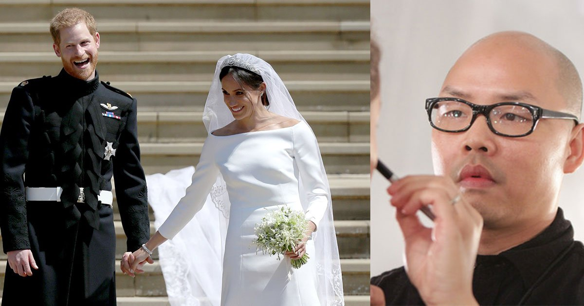 here is what delighted prince harry said to meghan markles makeup artist on their wedding day.jpg?resize=636,358 - Here Is What Delighted Prince Harry Said To Meghan Markle's Makeup Artist On Their Wedding Day