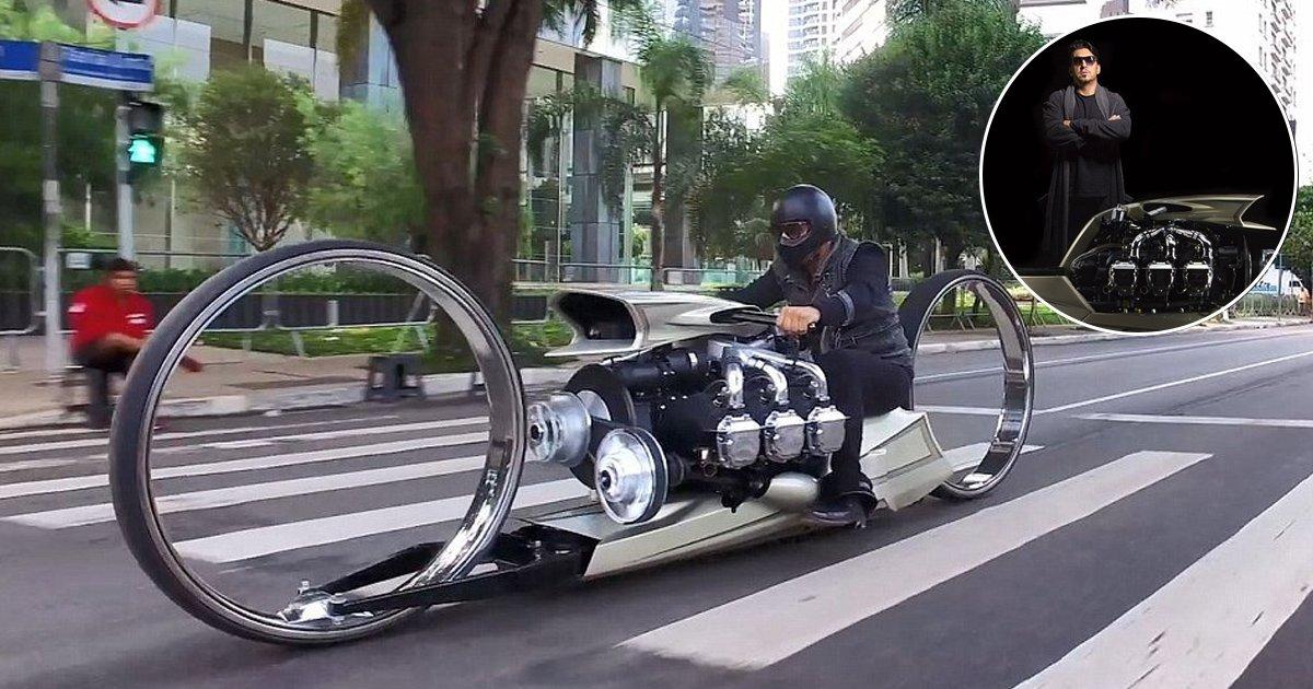 Tarso Marques, A Former Formula 1 Driver Created The Bike Of