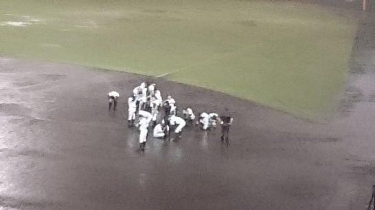 「雨天コールド 高校野球」の画像検索結果