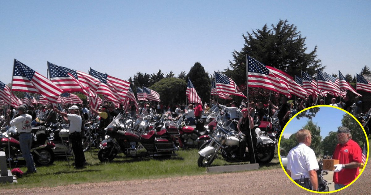 hya 1.jpg?resize=412,232 - Bikers Carried Fallen Hero's Remains Across The Country