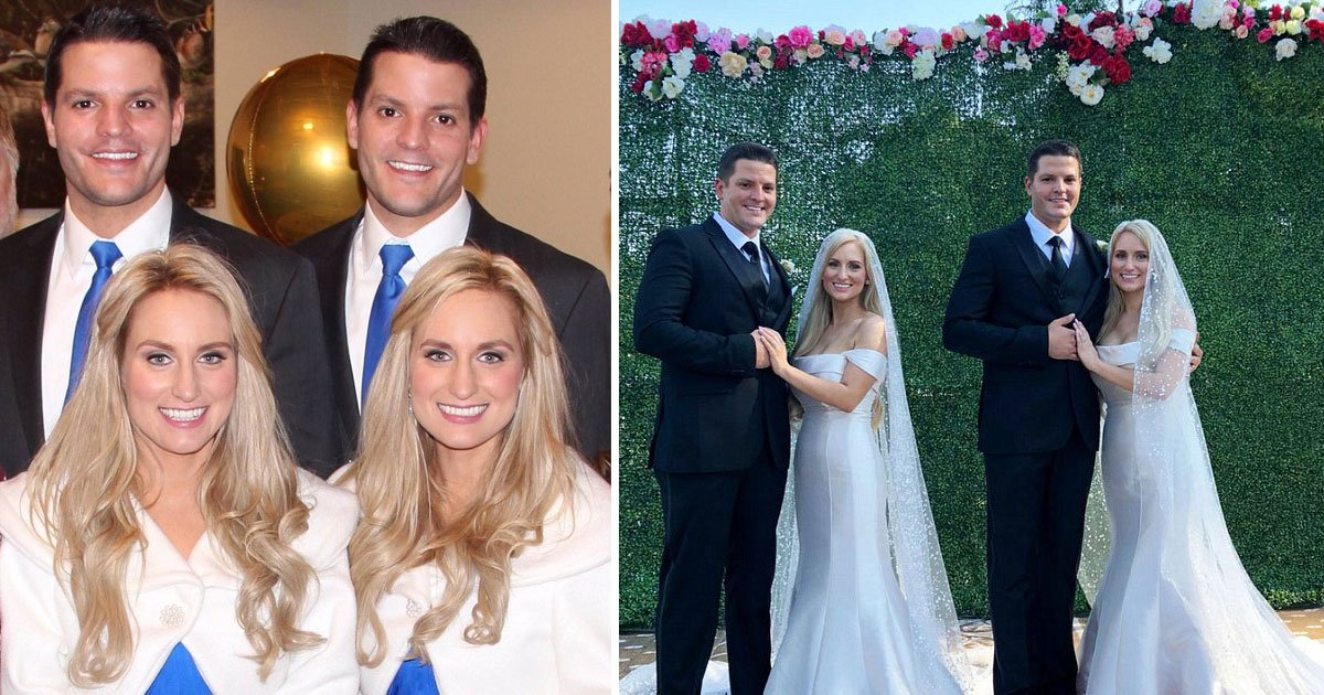 identical twin sisters married identical twin brothers.jpg?resize=412,232 - Twice Upon a Time: Identical Twin Sisters Married Identical Twin Brothers By Identical Twin Ministers