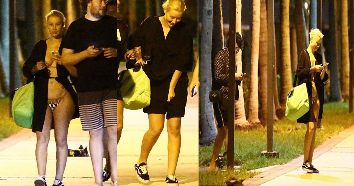 iggy azalea wardrobe maulfunction miami yatch 6jpg.jpg?resize=636,358 - Oops, Moment- Iggy Azalea Suffers An Unexpected Bikini Wardrobe Malfunction After Yachting With Friends In Miami's South Beach