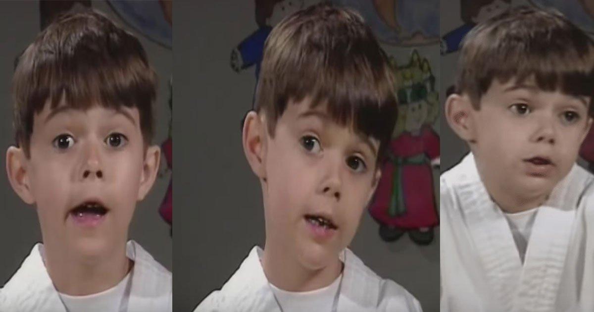 """kid why god made grandmother video 3.jpg?resize=1200,630 - Cette vidéo d'un garçon expliquant """"Pourquoi Dieu a fait les grands-mères """" est trop mignonne."""