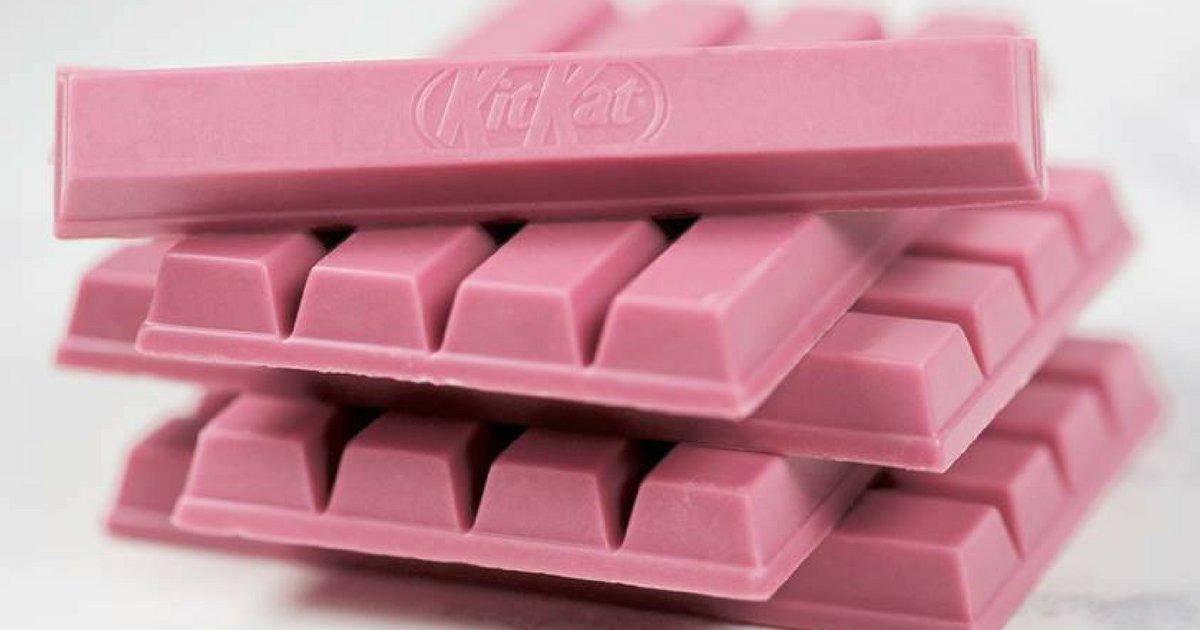 kiktktkt.png?resize=1200,630 - KitKat com chocolate naturalmente rosa chega ao Brasil