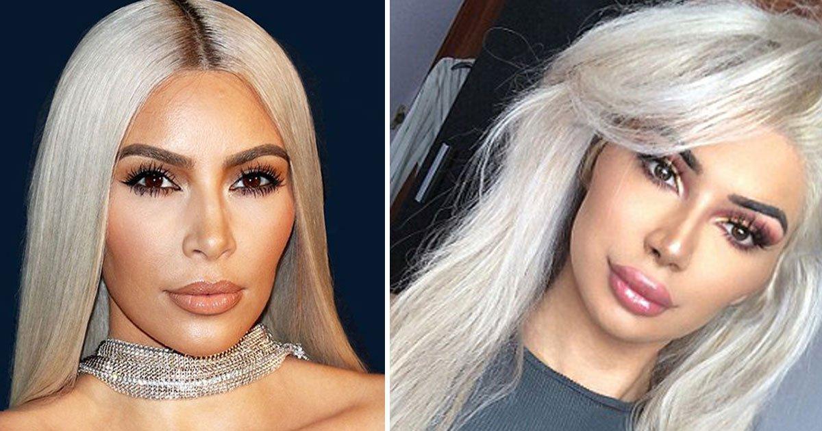 kim kardashian transgender teen.jpg?resize=300,169 - Para parecerse a Kim Kardashian, esta adolescente gastó £ 15,000 en dos años