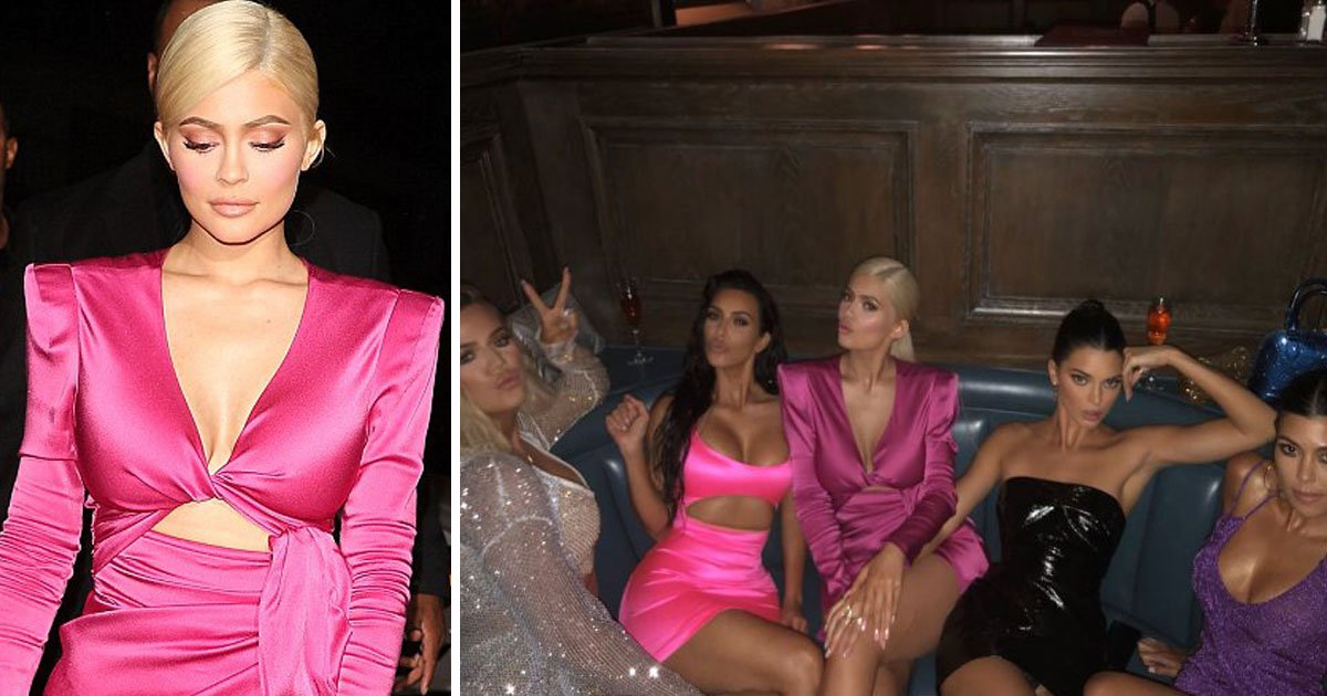 kylie jenner 21 birthday.jpg?resize=1200,630 - Kylie Jenner Shared An Adorable Picture Of Stormi Before Heading Out To Celebrate Her 21st Birthday