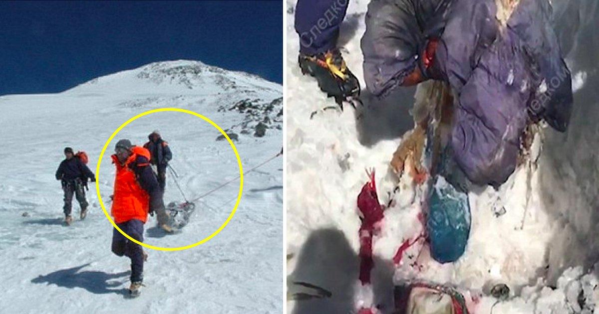 laka.jpg?resize=412,232 - Le corps d'Elena a été retrouvé enseveli sous une montagne de glace 31 ans après sa mort dans une avalanche