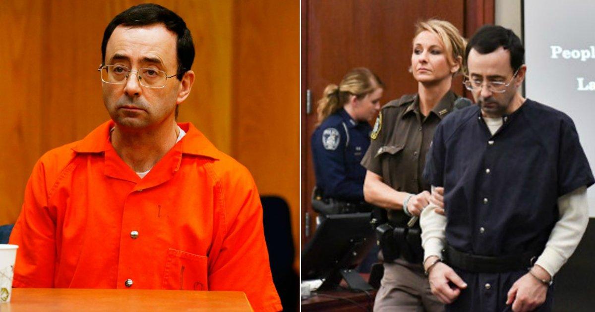 larry attacked.jpg?resize=636,358 - Larry Nassar, reconnu coupable d'agression sexuelle sur plus de 200 femmes, a été agressé en prison.