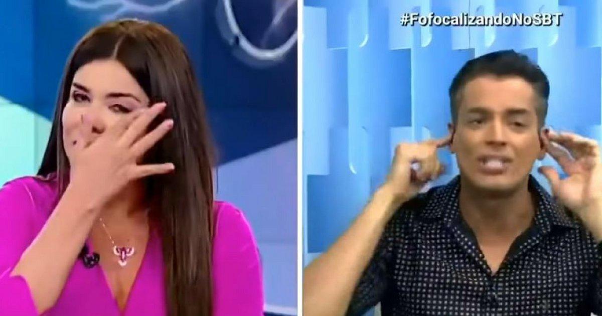 leomara.png?resize=1200,630 - Mara Maravilha e Leo Dias discutem ao vivo e apresentadora chora