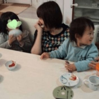 Image result for 小林麻耶と子ども