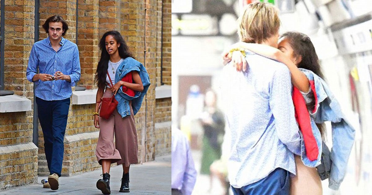 malia obama was pictured with boyfriend rory farquharsone28892 the couple lights up cigarette during their trip.jpg?resize=636,358 - Londres : Malia Obama photographiée avec son petit ami Rory Farquharson