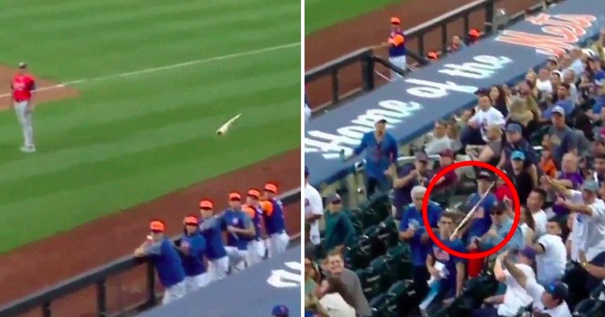 mallaag.jpg?resize=412,232 - Un père a saisi une bat de baseball dans les airs pour protéger ses enfants sans renverser une goutte de sa canette de bière dans sa main