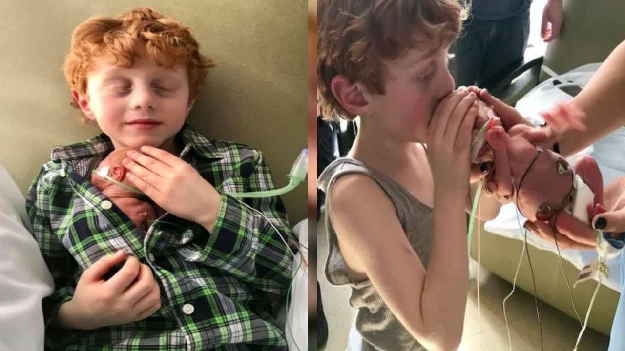 maxresdefault 11.jpg?resize=300,169 - Após 60 dias internado na UTI, garotinho finalmente segura seu irmãozinho pela primeira vez