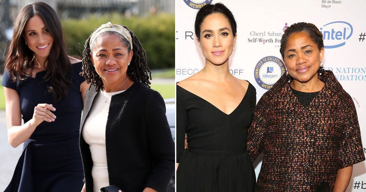 meghan markle and doria ragland.jpg?resize=636,358 - Meghan Markle's Mother Doria Ragland To Move To Britain Before Her 62nd Birthday