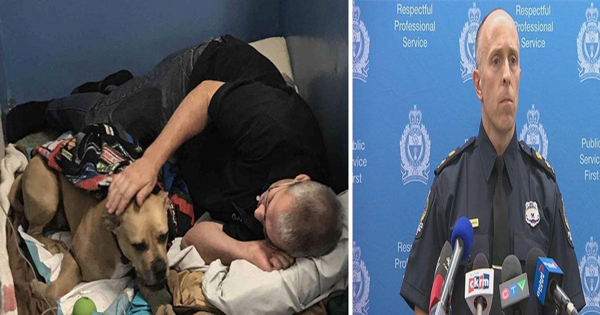 missty dog shot by officer canada 5.jpg?resize=412,232 - Un policier de Regina, au Canada, a tiré sur un chien qui voulait juste jouer avec lui