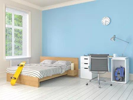 Divide your bedroom into zones