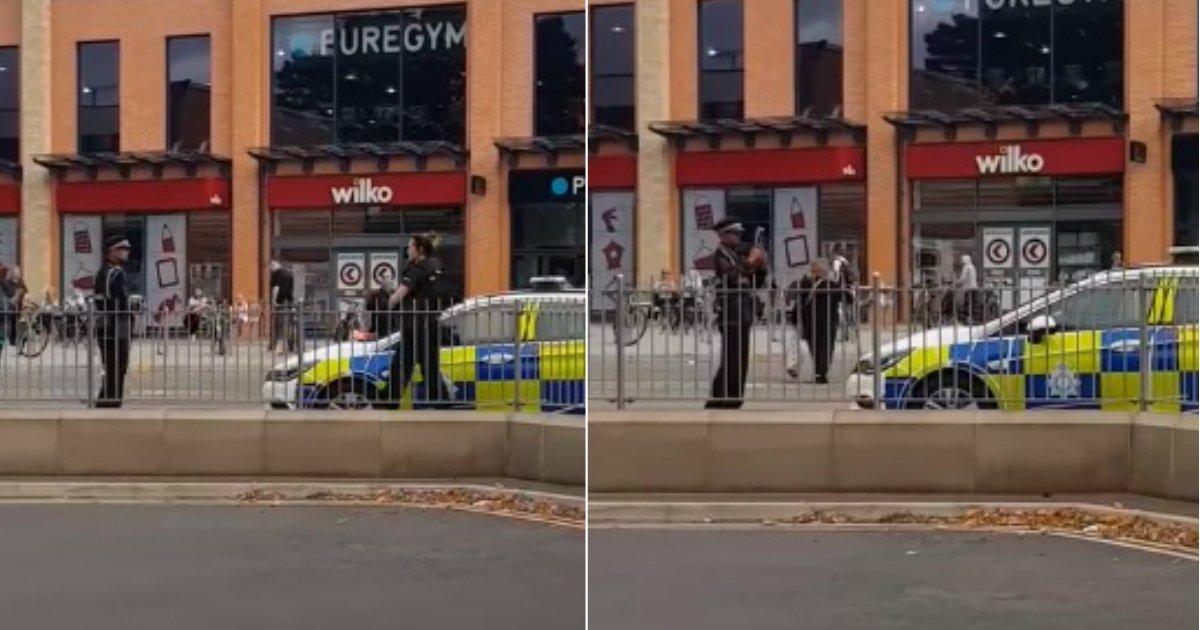 police ticket.jpg?resize=412,232 - Un gendarme remet une amende de stationnement à un véhicule de police alors que les policiers étaient en train de secourir une victime