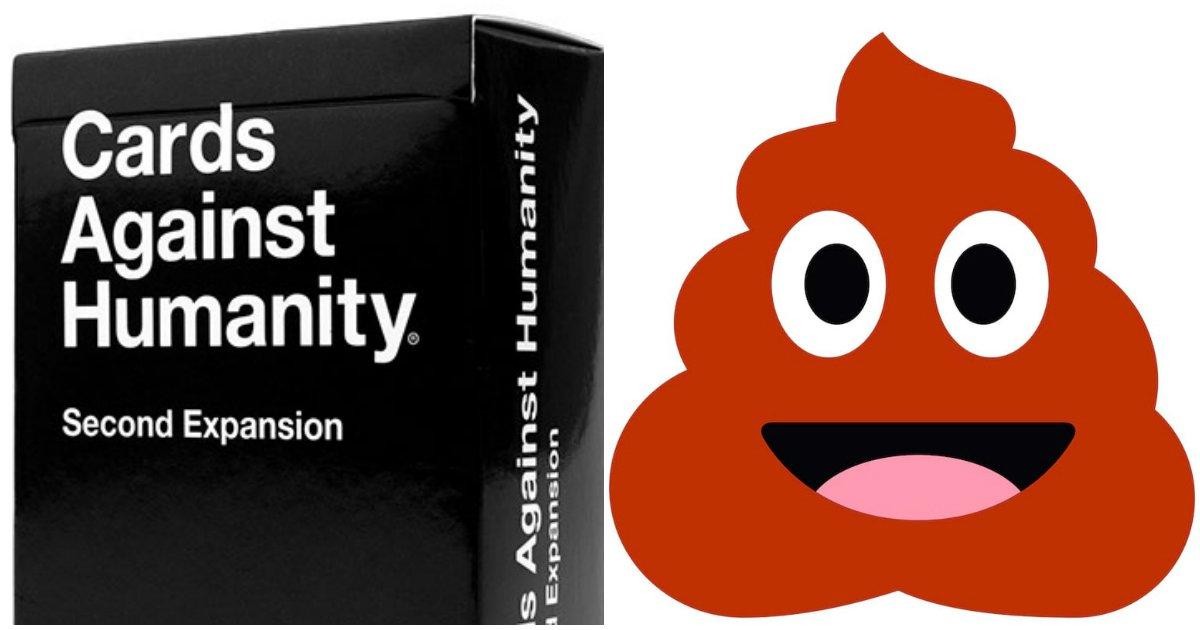 poo jokes.jpg?resize=1200,630 - ''Cartas Contra a Humanidade'' oferece pagar US$40 por hora para quem escrever piadas sujas sobre cocô