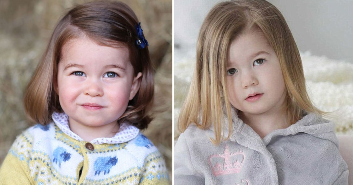 princess charlotte lookalike scarlett.jpg?resize=636,358 - Meet Princess Charlotte's Doppelganger Who Has Been Hired As A Royal Lookalike