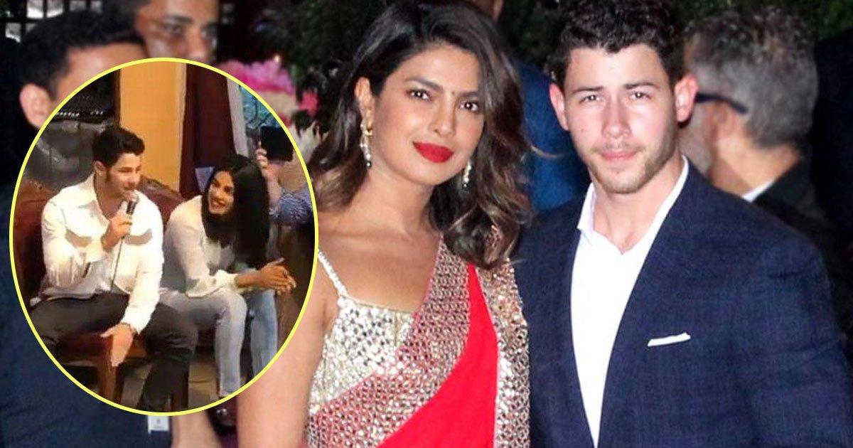 priyanka chopra nick jonas.jpg?resize=636,358 - Newly Engaged Couple Nick Jonas and Priyanka Chopra Visited An Orphanage In Mumbai - Priyanka Danced While Nick Sang For Kids