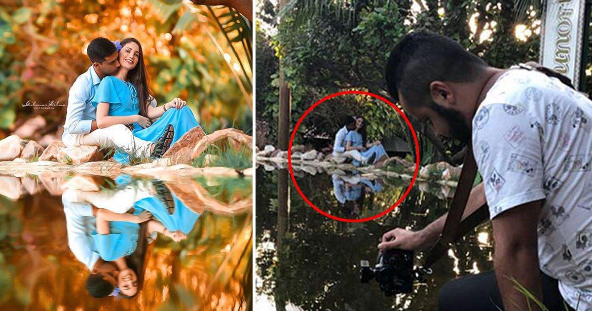 reality vs photo.jpg?resize=300,169 - A realidade por trás das fotos profissionais - este fotógrafo transforma uma foto comum em foto incrível