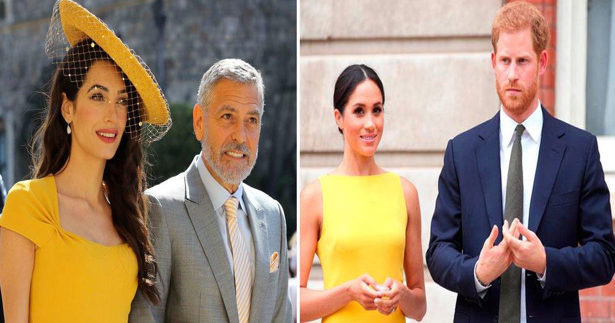 royal couple and the clooneys.jpg?resize=412,232 - Le prince Harry et Meghan Markle ont profité d'une escapade avec les Clooney dans leur villa de luxe sur le lac de Côme