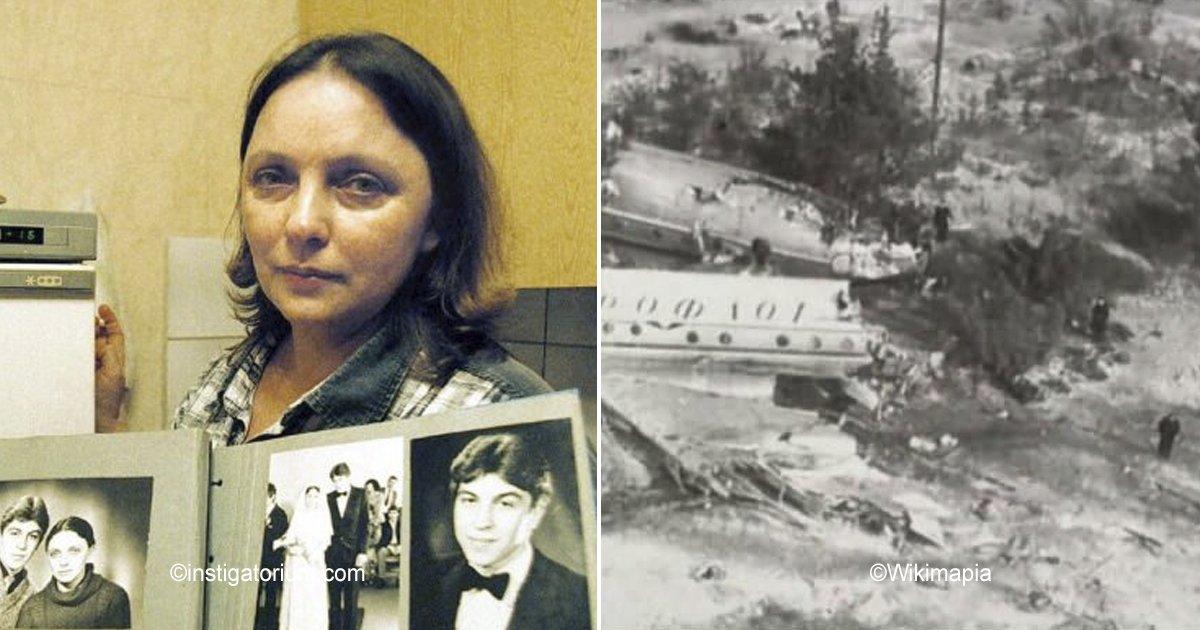 """rusa.jpg?resize=300,169 - Su marido """"falleció"""" hace 35 años en un choque de avión, ella sobrevivió y tenía prohibido contar la tragedia"""