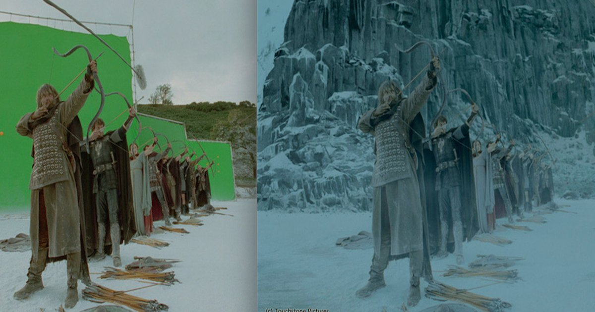 screen shot 2018 08 01 at 4 19 34 pm.png?resize=412,232 - 14 Photos Reveal How Famous Movies Look Before Special Effects