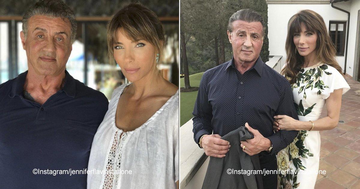 stallone.jpg?resize=300,169 - Sylvester Stallone celebró el cumpleaños 50 de su amada esposa de una manera muy especial