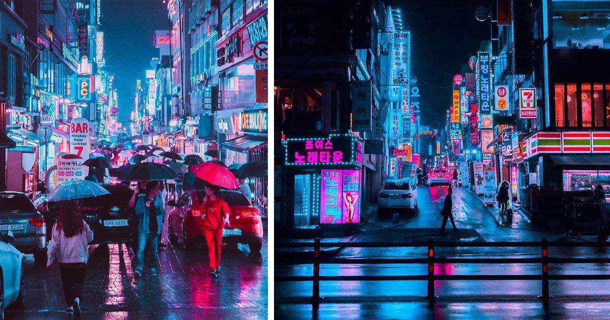 steve roe seoul trip neon hunting 5.jpg?resize=412,232 - 15 photos de chasse au néon dans le cyberpunk de Steve Roe qui vous laisseront bouche bée