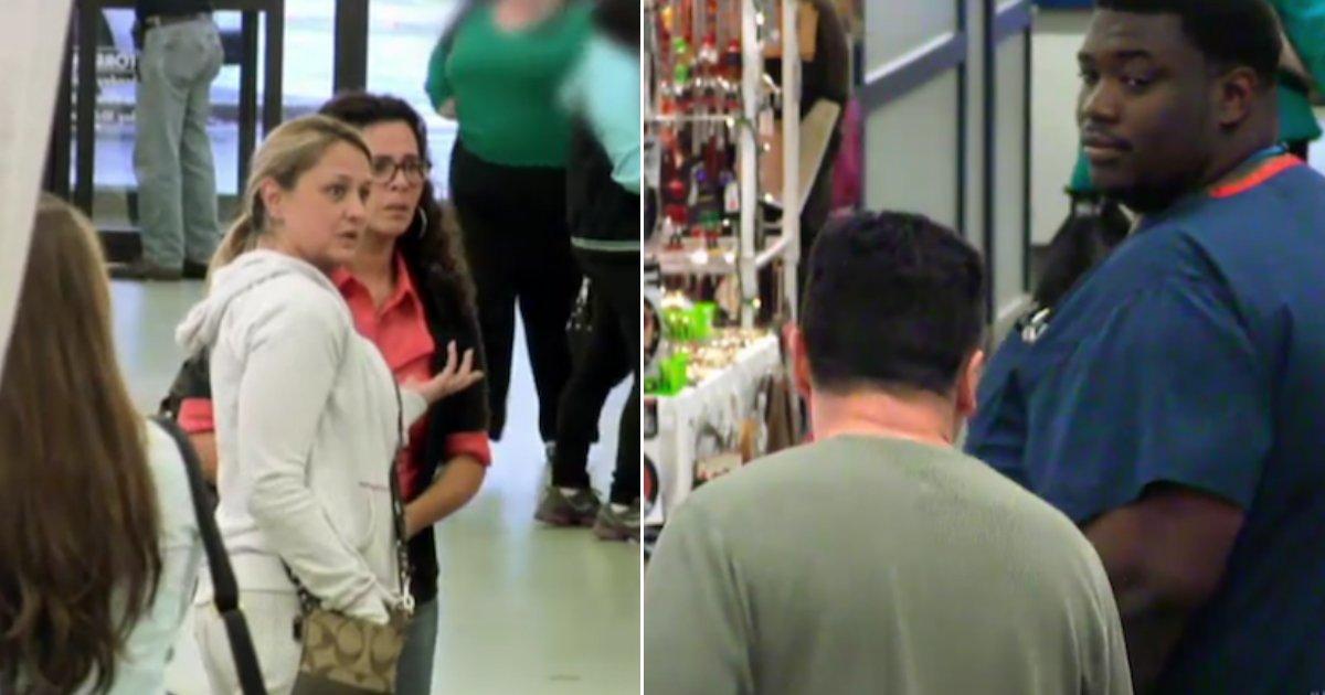 stranger help.jpg?resize=412,232 - Un homme humilie et menace sa femme pour voir comment les gens réagissent