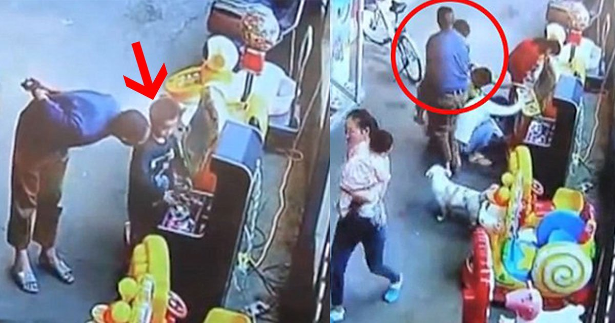 stranger man abducted a boy outside the supermarket in china and takes him hundreds of miles away from boys home.jpg?resize=412,232 - Stranger Man Abducted A Boy Outside The Supermarket In China And Takes Him Hundreds Of Miles Away From Boy's Home