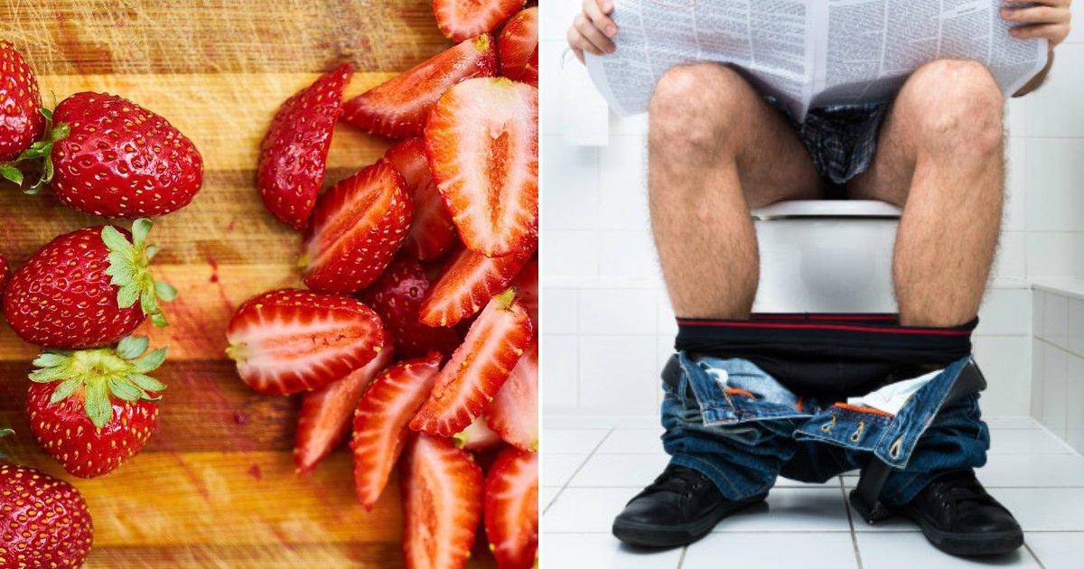 strawberry study.jpg?resize=412,232 - Une étude révèle que les fraises pourraient être utilisées pour traiter la maladie de Crohn et réduire la diarrhée