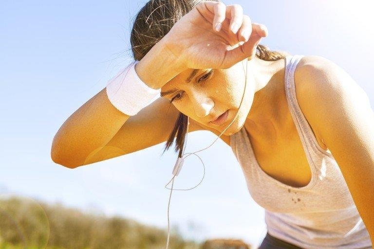Dehydration or heat exhaustion