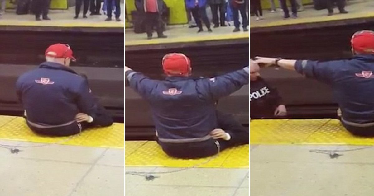 t2 side.jpg?resize=636,358 - Alert Train Worker Successfully Saves Suicidal Man Simply By Hugging And Comforting Him