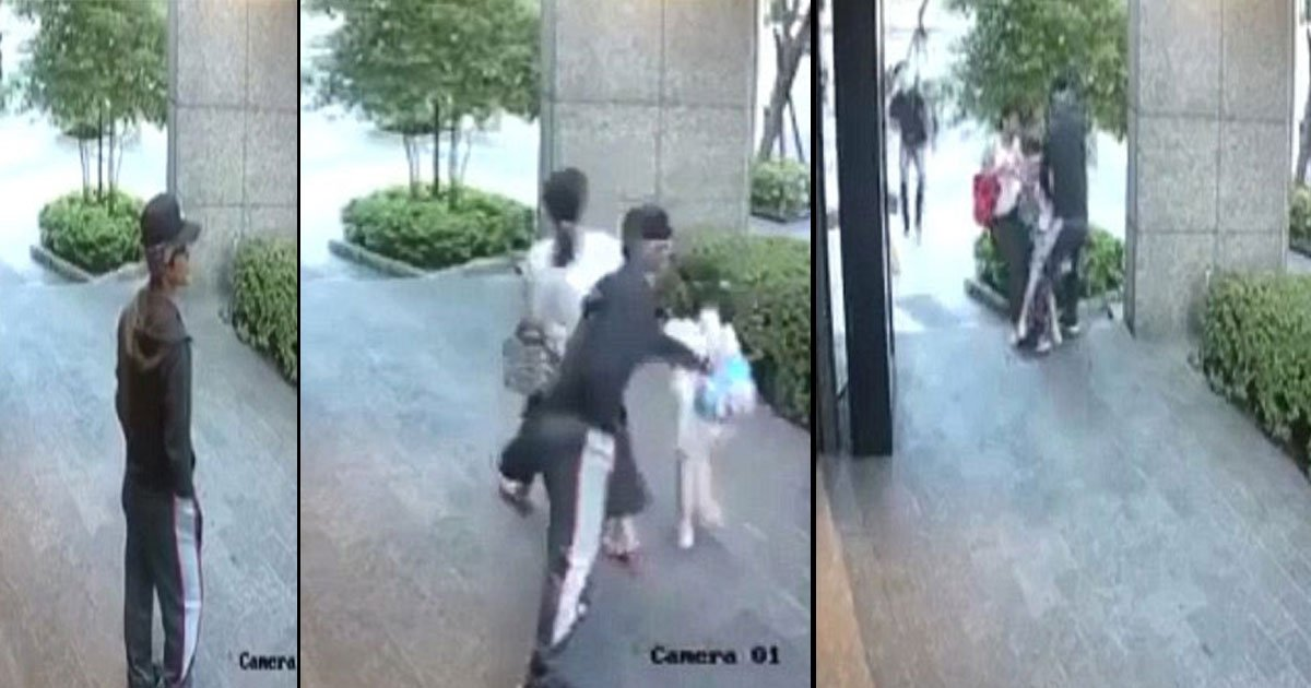 taiwan other saved daughter man 4.jpg?resize=1200,630 - Mother Saved Her Daughter From A Man Who Tried To Snatch Her In Broad Daylight