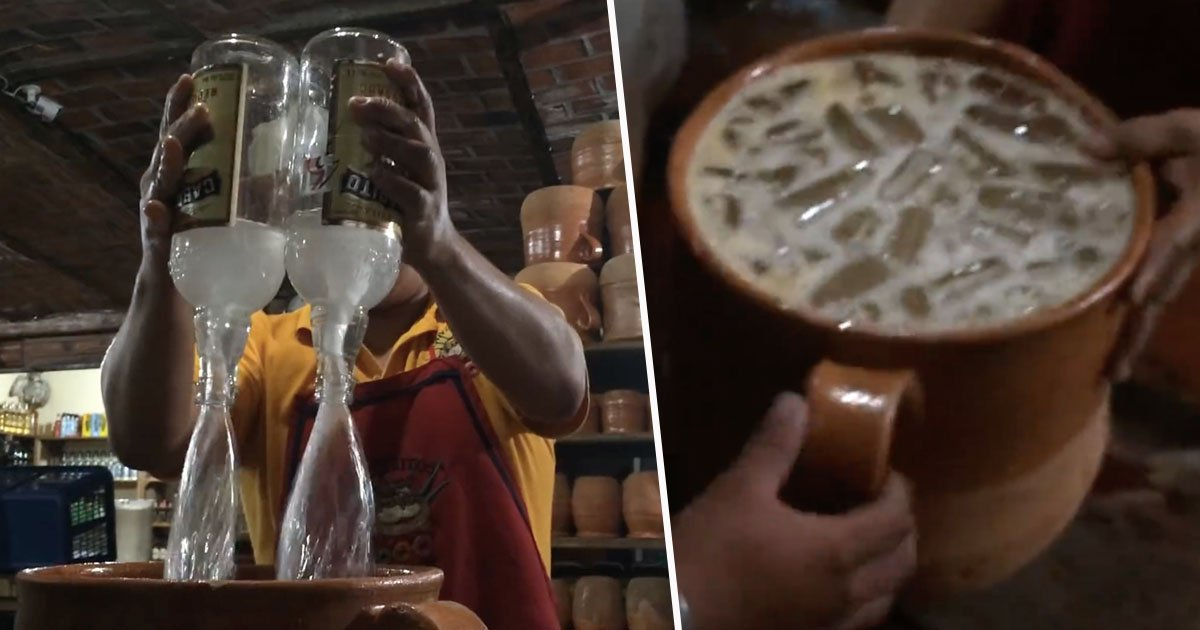 tequila1.jpg?resize=636,358 - This Tequila Drink in Mexico is the Biggest Cocktail you have Ever Seen and It Will Cost You $$$